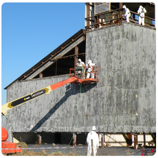 Asbestos abatement - transite