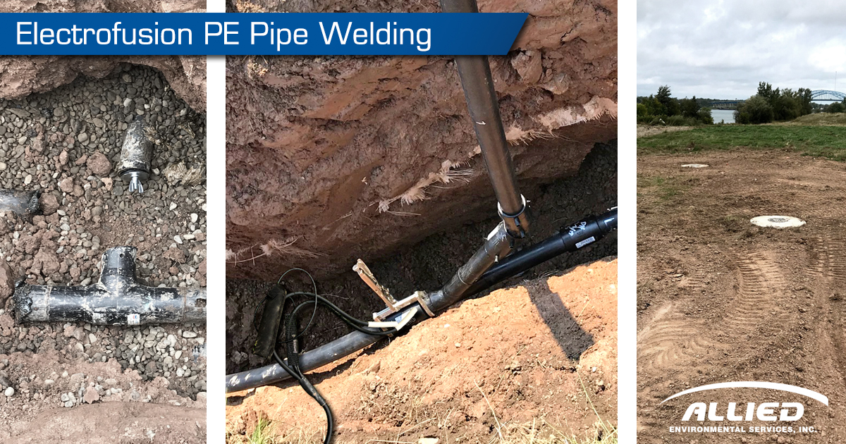 Allied Adds Electrofusion Pipe Welding Service