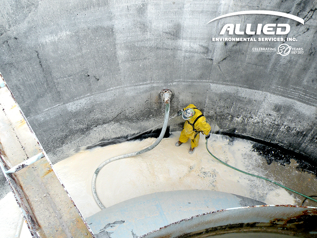 Clarifier Tank Cleaning Water Treatment Plant Allied
